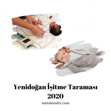 Tüm Sorularla Yenidoğan İşitme Taraması 2020