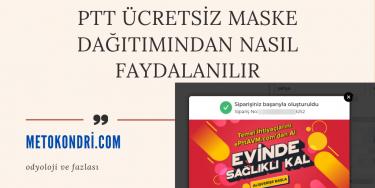 Ptt Ücretsiz Maske Dağıtımından Nasıl Faydalanılır