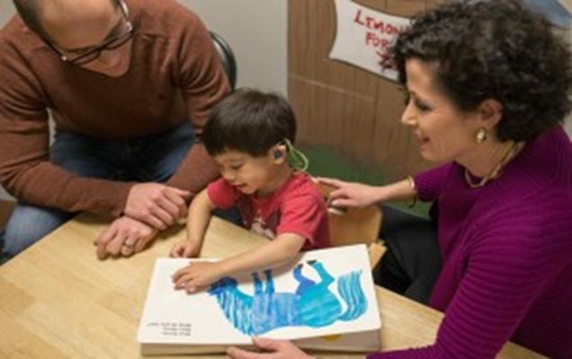 İşitsel sözel terapide asıl üzerinde çalışılan kişiler ebeveynlerdir/aile fertleridir.
