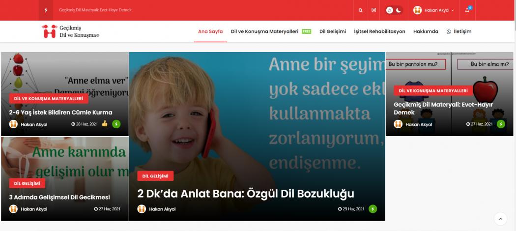 Geçikmiş Dil ve Konuşma Açıldı 2021
